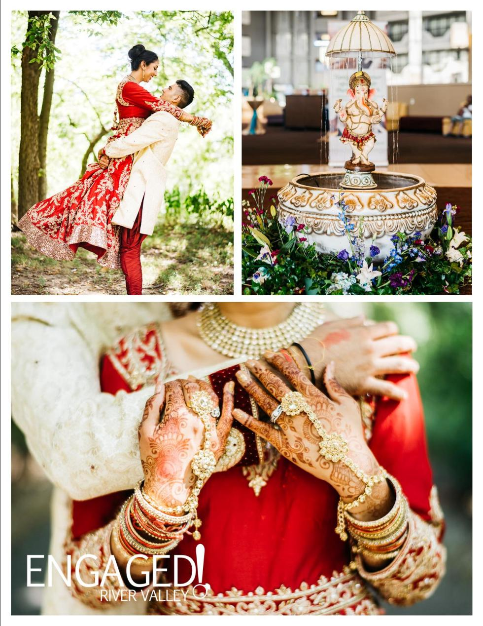 hindu-wedding-board-engaged-rivervalleydotcom