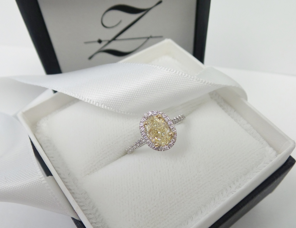 Yellow Diamond from Tracy Zeller Jewelry